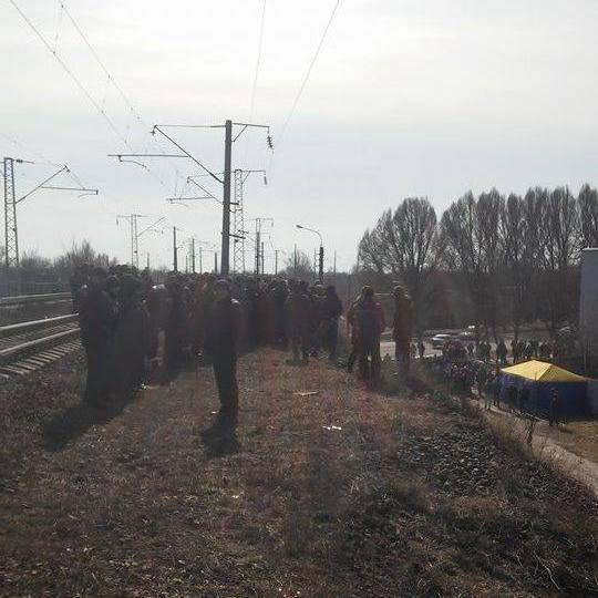 У Штабі блокади відмовилися здавати зброю поліції