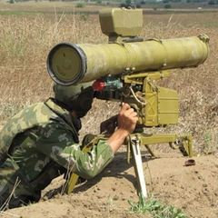 Випробовування нових українських протитанкових ракет. В мережі з'явилось відео