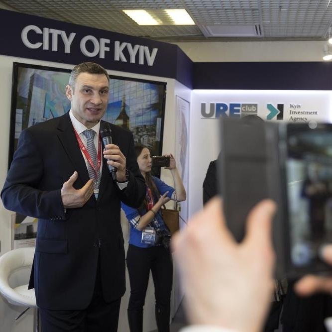 Кличко презентував інвестиційний потенціал Києва на міжнародній виставці нерухомості MIPIM