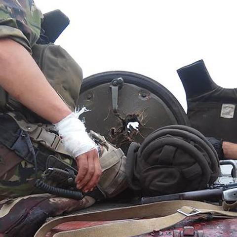 Втрачено трьох українських бійців, вісьмох поранено, - вечірній звіт штабу АТО