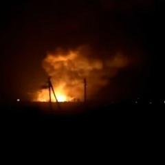 У Харківській області вибухнули склади боєприпасів, жителів евакуювали (фото, відео)