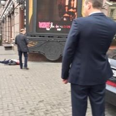 Встановлено особу вбитого чоловіка сьогодні у центрі Києва (оновлено)