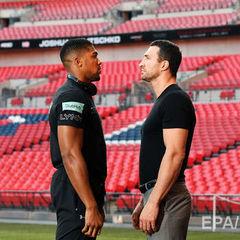 Великий бій між Кличком і Джошуа на «Уемблі». Візитки боксерів