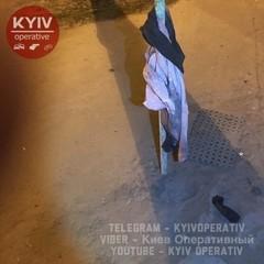 У Києві невідомий намагався підірвати автозаправку