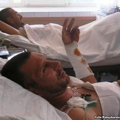 У Дніпро госпіталізували 11 бійців АТО, одного з них хірурги оперували разом з саперами