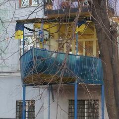 «Квартира на вітрилах» - мешканець Києва шокував мережу (фото, відео)