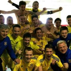 Неймовірні емоції юнацької збірної України після виходу на Євро-2017 (відео)