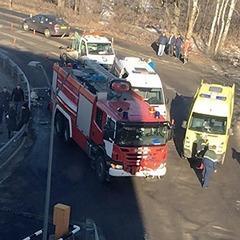 У московському аеропорту пожежний автомобіль збив людей, загинула жінка (фото)