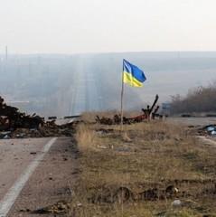 Незрозумілий інцидент під Маріуполем: бойовики підняли український прапор