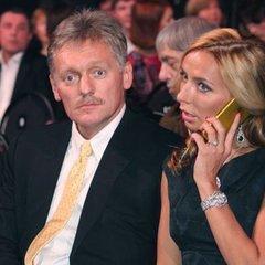 Тетяна Навка опублікувала знімок напівголого прес-секретаря Путіна
