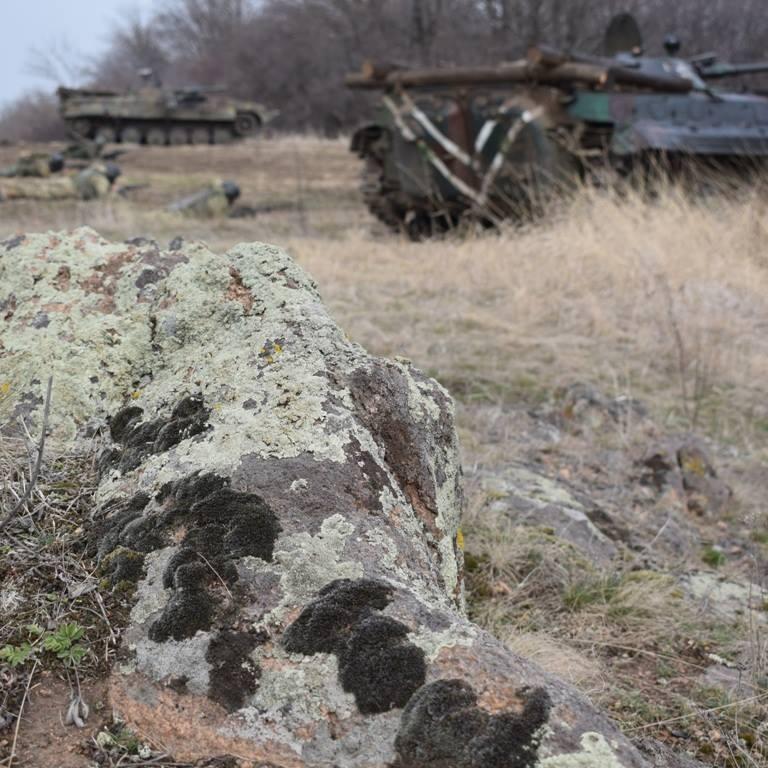 У зоні АТО військовий застрелив співслужбовця
