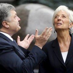 Порошенко провів переговори з главою МВФ