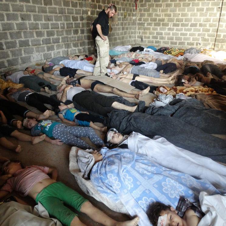 Хімічна атака в Сирії: Число загиблих зросло до 72 осіб, серед них - 20 дітей