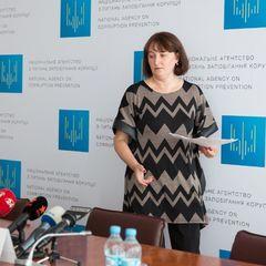 Голова НАЗК визнала, що виписала собі премію у 200 тисяч гривень за роботу