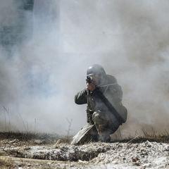 Бойовики обстріляли опорні пункти українських військових, - штаб
