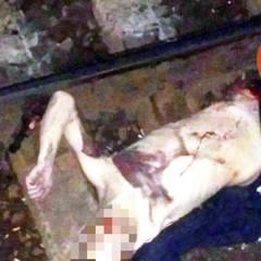 Моторошний нічний випадок у столиці: хлопець думав, що встигне пробігти перед поїздом