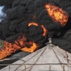 У Вишневому вибухнула нафтобаза