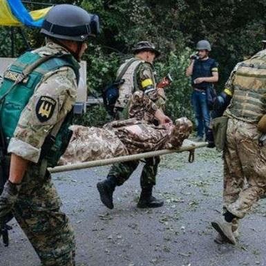 У зоні АТО загострення : 2 військових загинули, ще 8 поранені