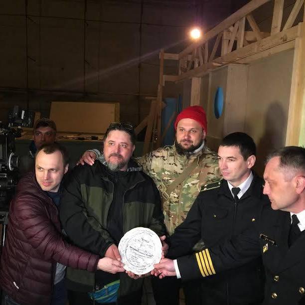 Розпочалися зйомки фільму про подвиг матросів тральщика «Черкаси» під час анексії Криму