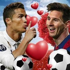 У Барселоні з'явився малюнок, на якому Роналду цілується з Мессі (фото)