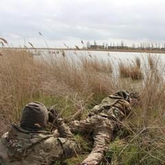 На Херсонщині українські прикордонники провели навчання (фото, відео)