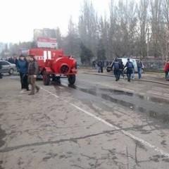 В Одесі запалав ринок «Північний» (фото, відео)