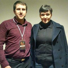 Савченко побувала на боксерському турнірі у Києві (фото)