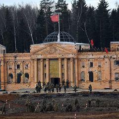 Як у Росії під наглядом Шойгу штурмували «Рейхстаг» (фото, відео)