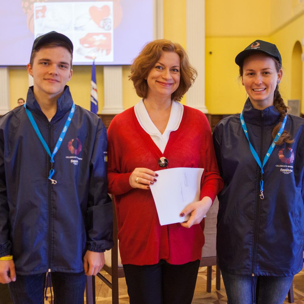 У КМДА повідомили, скільки грошей було виділено на підготовку волонтерів до «Євробачення-2017»