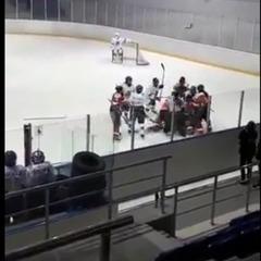 Хокеїстки влаштували масову бійку в матчі чемпіонату Казахстану (відео)