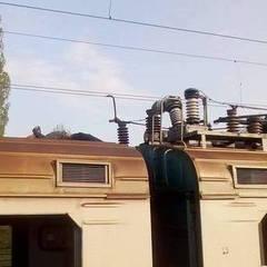 На Київщині на даху електрички заживо згорів хлопець (фото)