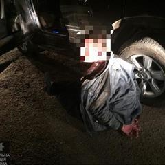 У Харкові водій тікаючи від одних патрульних протаранив автомобіль інших