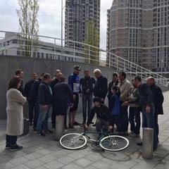 Віталій Кличко: «Роботи з реконструкції велотреку йдуть за планом і він буде відкритий 20 травня»