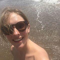 Як Катя Осадча проводить свою відпустку (фото)