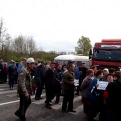 Блокувальники на Волині обіцяють перекрити залізницю