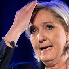 Поразці Ле Пен присвятили дотепну карикатуру (фото)