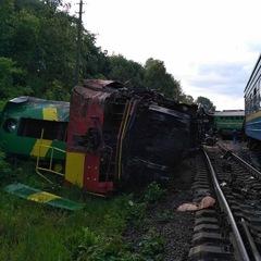 Зіткнення потягів на Хмельниччині: оперативниками розглядається дві версії