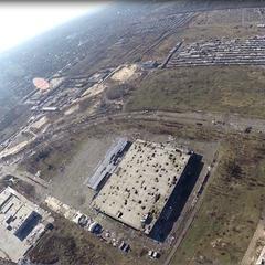 Руїни Донецького аеропорту зняли з повітря: відео