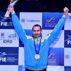 Український шпажист Богдан Нікішин у свій день народження здобув золото Grand Prix FIE - Bogota