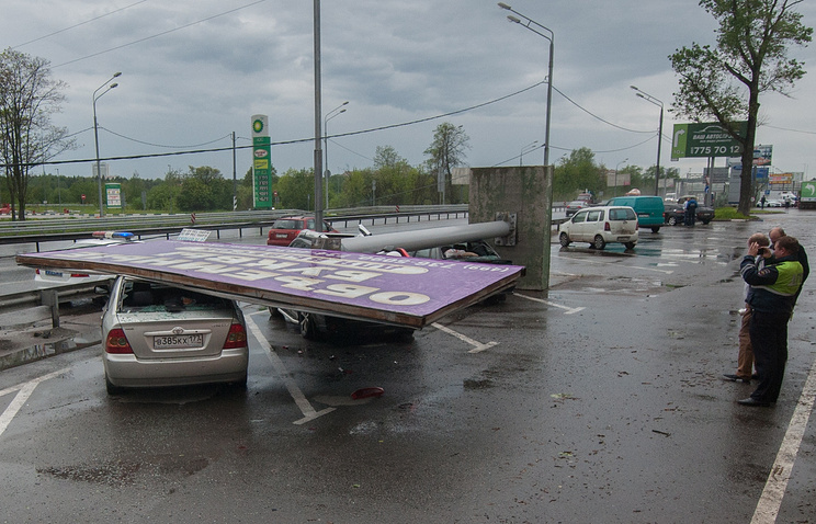 Ураган вМоскві. Кількість жертв зростає, серед загиблих дитина