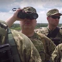Турчинов на Донбасі пожартував про взяття Москви (відео)