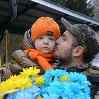 Воїни АТО записали зворушливе відеозвернення до своїх дітей (відео)