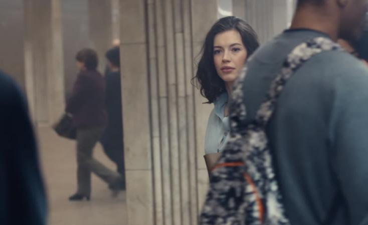 Укиївському метро відзняли ролик про вічне кохання для французького бренду