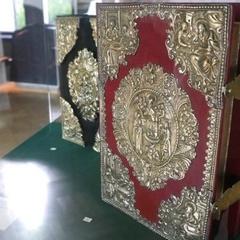 У Софії Київській показують одну з найцікавіших колекцій стародруків