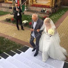 З'явились фото із весілля Матвієнко та Мірзояна