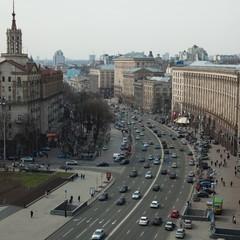 В неділю у центральній частині столиці тимчасово обмежать рух транспорту
