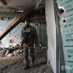 Унаслідок бойових дій за минулу добу п'ятеро українських військових дістали поранення – штаб АТО