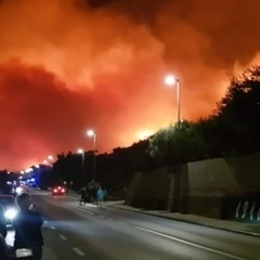 Масштабна пожежа на курорті у Хорватії: до гасіння залучили армію