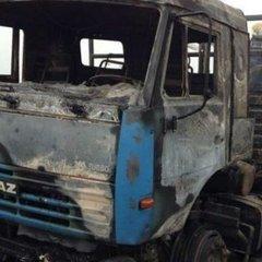 На Луганщині вибухнула вантажівка із мирними жителями
