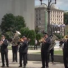 Завтра у столиці відбудеться конкурс оркестрів Нацполіції, планується встановити рекорд (відео)